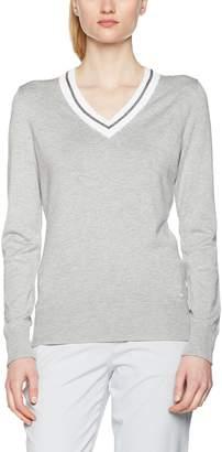 Brax Women's Kerstin Sports Knitwear, (Grey Melange 6), XX-Large