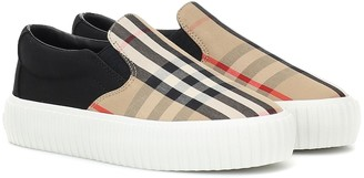 BURBERRY KIDS Flinton Vintage Check sneakers