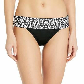 Captiva Women's High Waisted Adjustable Foldover Bikini Bottom