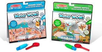 Melissa & Doug Water Wow! Deluxe Travel Activity Pad 2-Pack