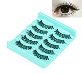 Big sale! Kinghard 5 Pair/Lot Crisscross False Eyelashes Lashes Voluminous Hot Eye Lashes