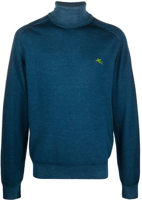 Etro Roll-Neck Fitted Jumper
