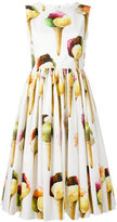 Dolce & Gabbana ice-cream print dress - women - Cotton - 40