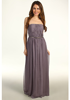 Donna Morgan Multi-Directional Belted Bustier Dress