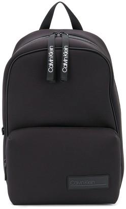 Calvin Klein Logo Patch Backpack