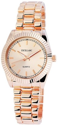 Excellanc Women's Quartz Watch with Different Materials 180635500002