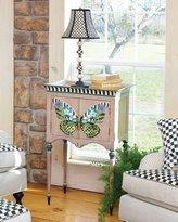 Mackenzie Childs MacKenzie-Childs Butterfly Console Cabinet