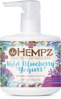Hempz Fabulous Collection Limited Edition Wild Blueberry Yogurt Body Scrub