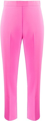 Pinko Cropped High Waisted Trousers