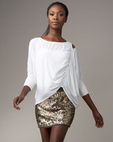 ACE Delivery Tumbled Sequin Miniskirt