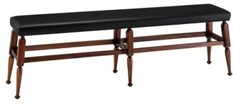 Canora Grey Dufrene Faux Leather Bench