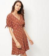 Kleid Braun Punkte - ShopStyle Deutschland