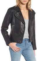 BB Dakota Women's Dominic Leather Moto Jacket