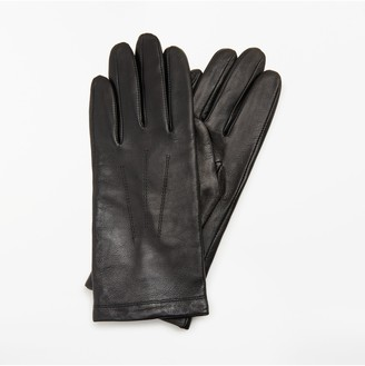 John Lewis & Partners Genuine Leather Gloves