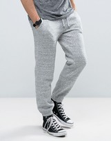 Jack Wills Gosworth Logo Sweatpants In Tapered Fit In Grey