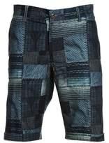 Franklin & Marshall Men's Blue Cotton Shorts.