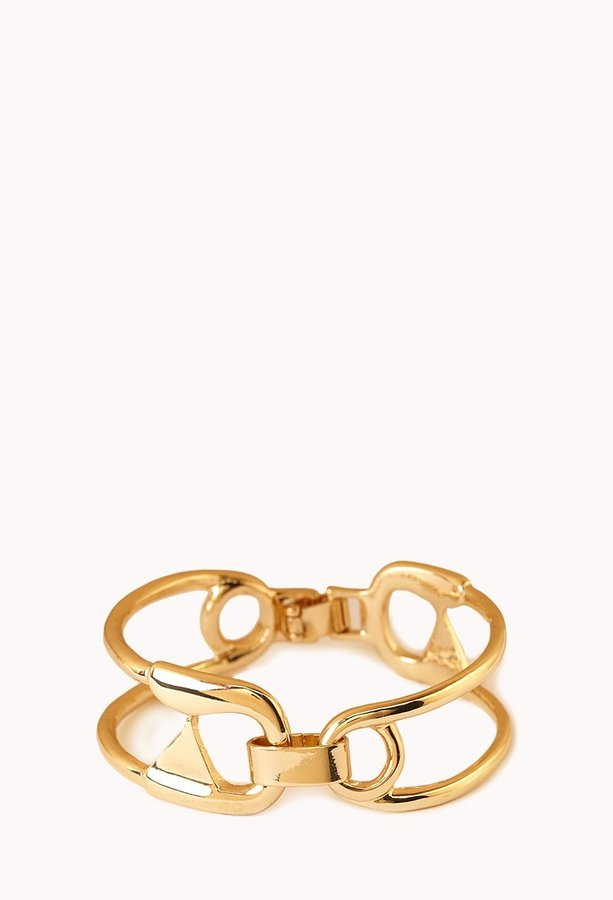 Forever 21 Statement-Making Safety Pin Bangle