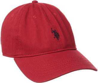 U.S. Polo Assn. Men's Small Solid Horse Adjustable Cap