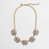 J.Crew Factory Factory abstract octagon necklace