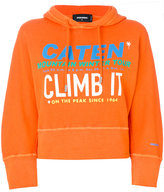 DSQUARED2 Climb It printed oversized hoodie
