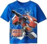 Power Rangers Transformers Little Boys' Optimus Prime T-Shirt Shirt