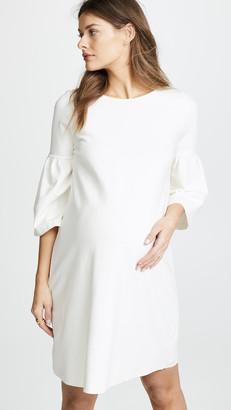Ingrid & Isabel Ponte Bell Sleeve Dress