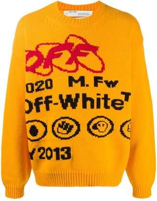 Off-White Industrial Logo Jumper
