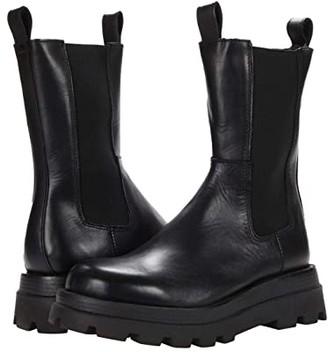 Steve Madden Explorer Boot (Black Leather) Women's Boots