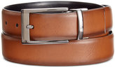 Alfani Men's Big & Tall Feather-Edge Reversible Belt, Only at Macy's