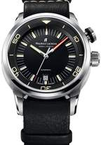 Maurice Lacroix Pontos S Diver Men's Leather Strap Automatic Watch PT6248-SS001-330