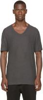 Alexander Wang Grey Pilled Silk T-Shirt