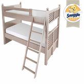 SNUGGLE HOME Snuggle Home 6 Bunk Bed Medium Tight-Top Memory Foam Mattress