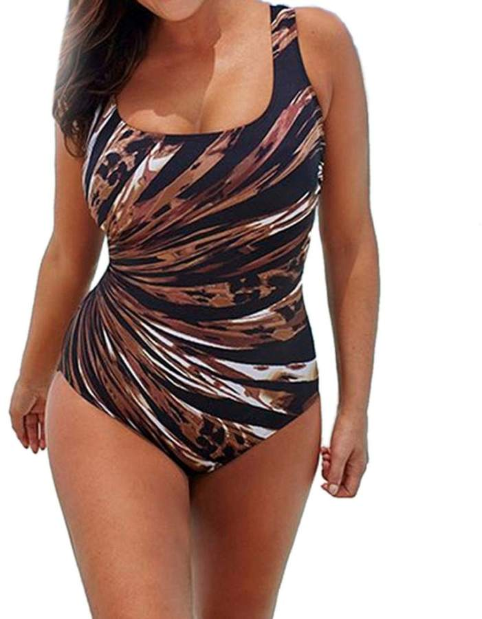 ae2fdb4125 Brown Plus Size Swimsuits - ShopStyle Canada