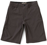 First Wave Little Boys 2T-7 Etched Shorts