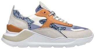 D.A.T.E Fuga Glitter Sky Sneaker
