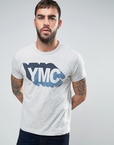 YMC Shadow Logo T-Shirt