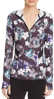 adidas by Stella McCartney Floral Print Hooded Top