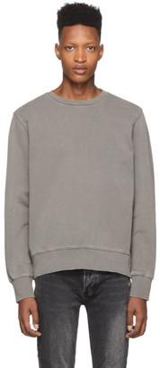 Ksubi Grey Seeing Lines Sweatshirt
