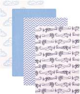 """Hudson Baby Planes"""" 4-Pack Receiving Blankets"""