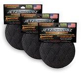Jetz-Scrubz Scrubber Sponge, Round, Set of 3