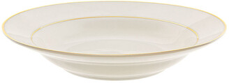 Ten Strawberry Street Double Gold Line Set Of 6 Soup Bowls