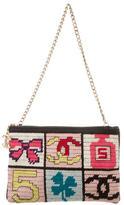 Chanel Precious Symbols Needlepoint Pochette
