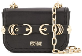 Versace buckled strap crossbody bag