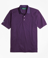 Brooks Brothers St Andrews Links Textured Diamond Golf Polo Shirt