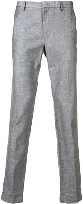 HUGO BOSS tapered slim-fit trousers