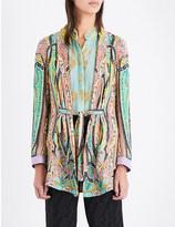 Etro Paisley-print woven jacket