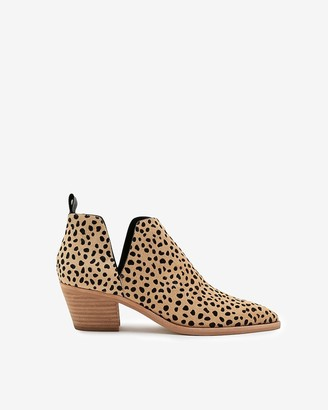 Express Dolce Vita Calf Hair Sonni Booties