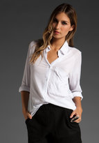 Raglan Button Down