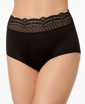 Warner's No Pinching No Problems Lace-Waist Brief Underwear RS7401P