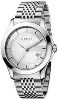 Gucci Men's YA126401 G Timeless Dial Watch